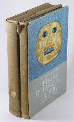 Pre-Columbian Gold -Calima Style, Columbia -Great Large 2 Volume Set