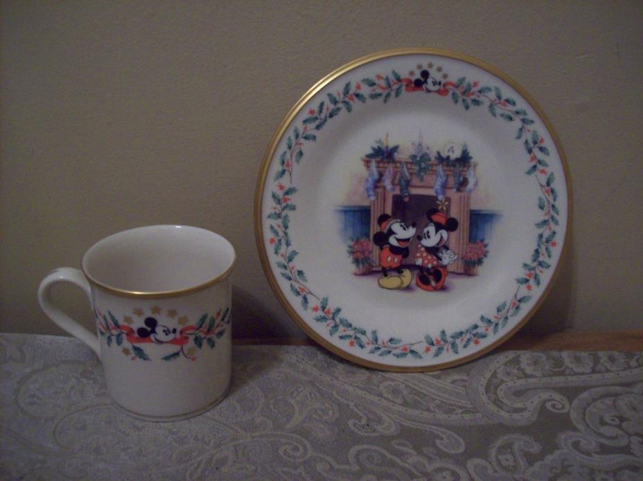 Lenox Mickey and Minnie