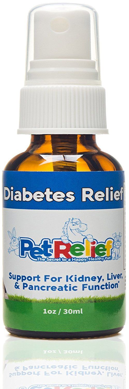 Pet Relief Natural Arthritis Pain Relief Supplement for Dogs, 30ml Pet Diabetes