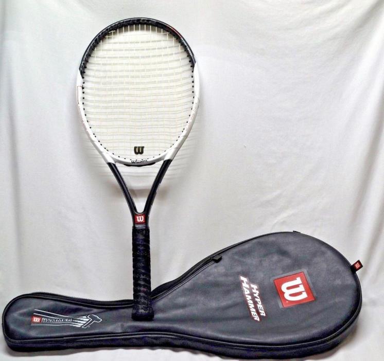 WILSON HYPER HAMMER 6.2 Tennis Racquet 16x20 110sq.in. Extra Long  Hyper Carbon