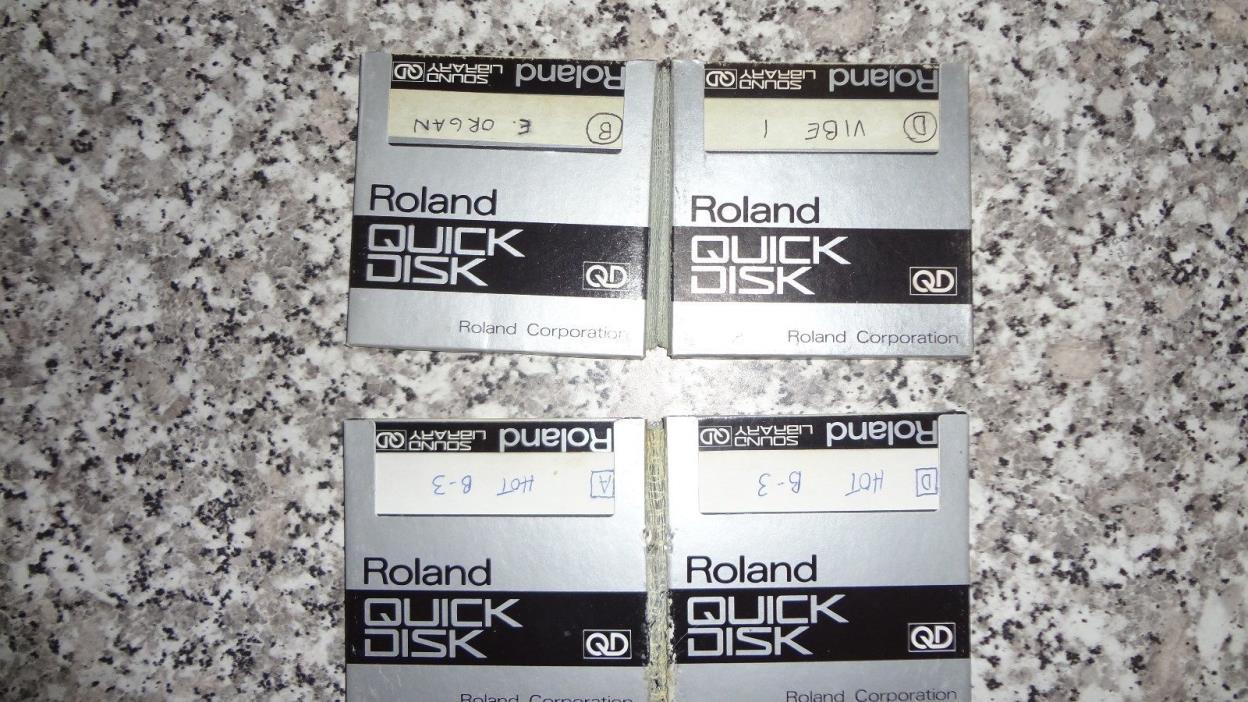 Roland S-10 quick disk sound disk sound library