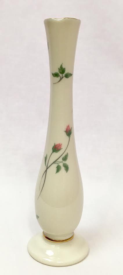Lenox Ivory Rose Manor Bud Vase, 7.5