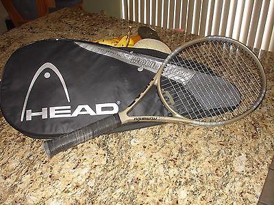 Head Liquidmetal 5 Pure Energy Oversize Tennis Racket = 4 3/8 + 107
