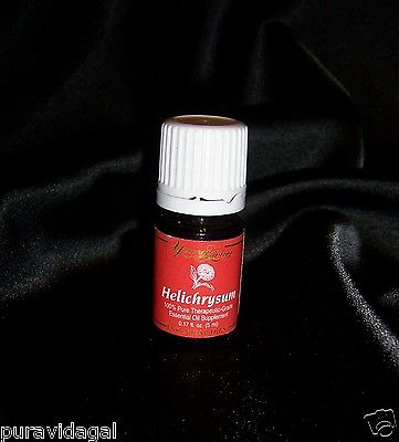 Young Living Essential Oil ~ HELICHRYSUM ~ 5 ml ~ NEW Sealed Bottle