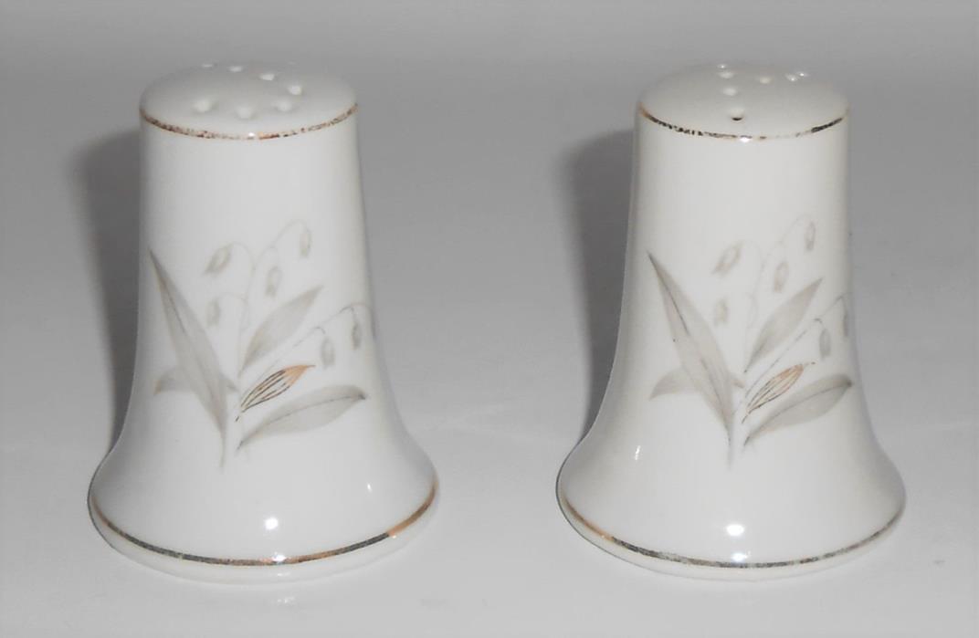 Kaysons China Porcelain Golden Rhapsody Salt & Pepper Shaker Set