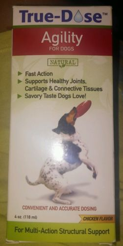 TRUE -DOSE AGILITY FOR DOGS 4OZ.