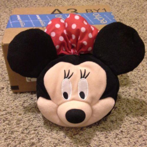 Disney Minnie Mouse Girls Plush Handbag Purse