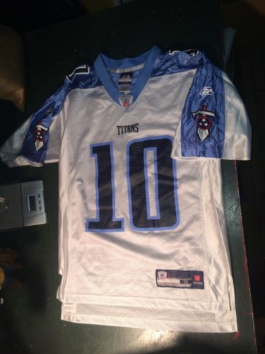 Tennessee Titans NFL Football jersey reebok rbk small 10 young