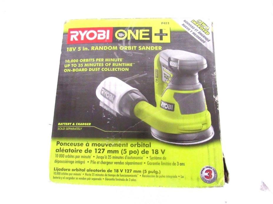 Ryobi ONE+ 18-Volt 5 in. Cordless Random Orbit Sander (Tool-Only)