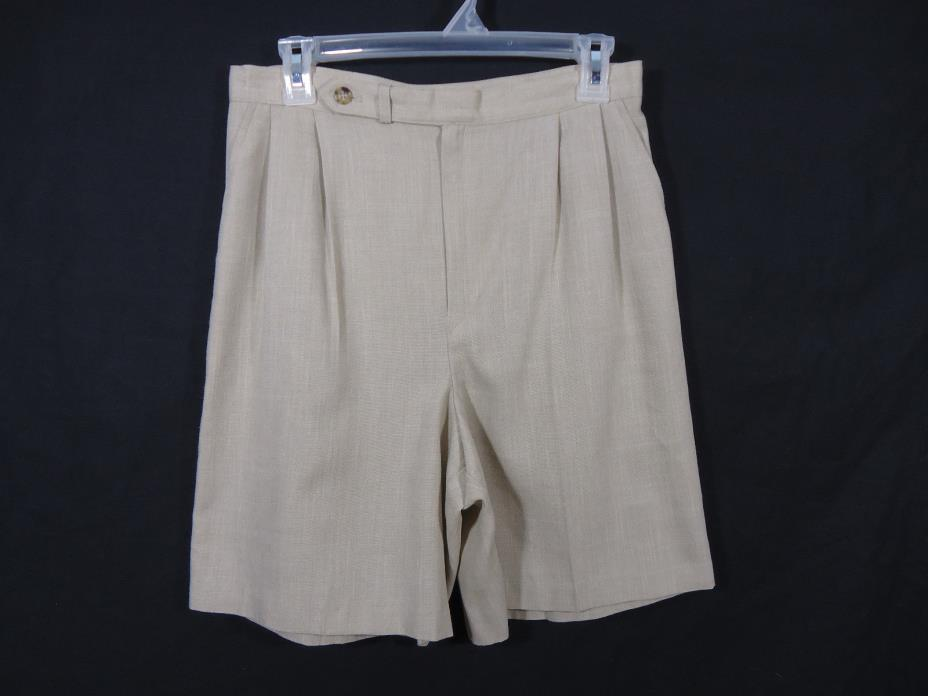 Fundamental Things Pleated Golf Style Shorts Casual, Career, Work, Business
