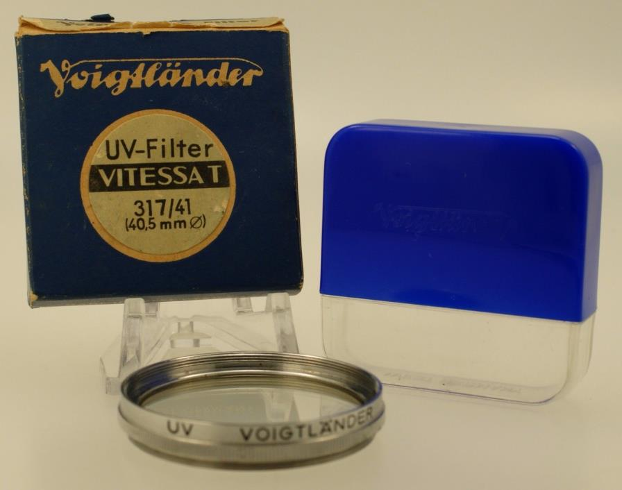 Voigtlander UV Filter Vitessa T 317/41 (40.5mm)