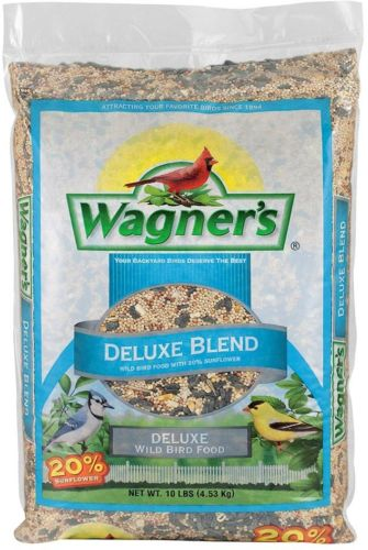 Wagner's 10 lb. Deluxe Wild Focus Feeder Ford Bird Food Sunflower Blend Seed
