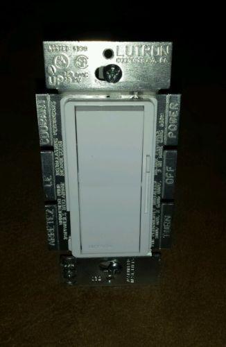 Lutron Diva DV-10P 1000 Watt Single Pole Incandescent Dimmer White