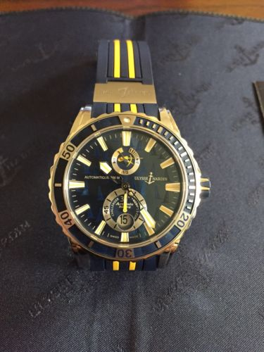 Ulysse Nardin Marine Diver Artemis Racing, 44mm, Pre-owned - Never worn