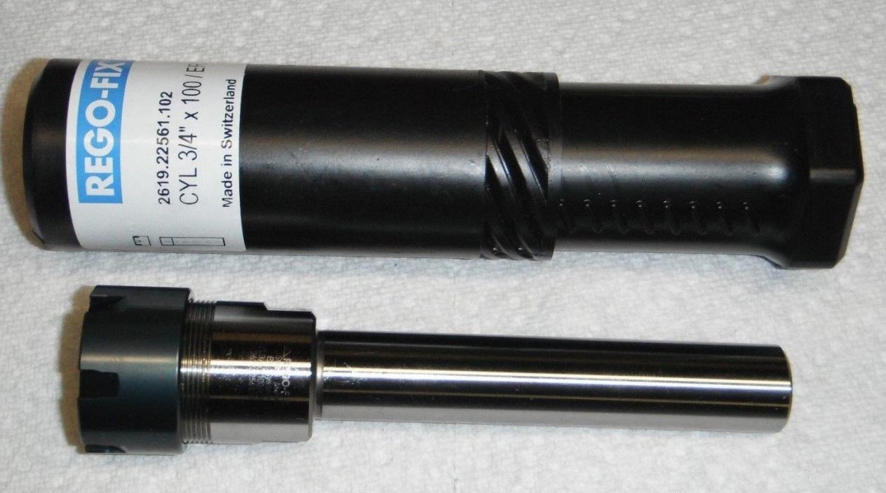 RegoFix CYL 3/4IN X 100MM /ER25M ,2619.22561, 3/4 straight shank swiss holder