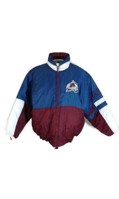 RARE Vintage Starter NHL Colorado Avalanche Jacket Size M