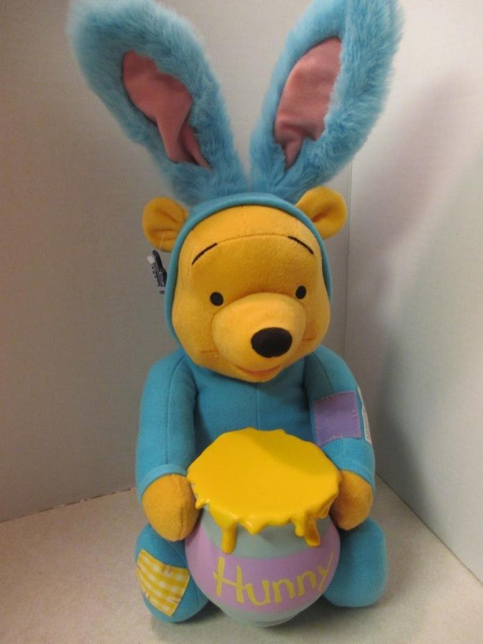 Vintage Applause Winnie The Pooh Plush Talking Bunny Rabbit 8.91~ NEW W/TAGS