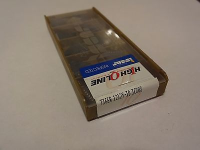 (Lot of 10) Iscar TIGER 1212Y-IQ IC808 Carbide Inserts