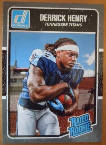 2016 DERRICK HENRY DONRUSS RATED ROOKIE CARD #365 (TENNESSEE TITANS)