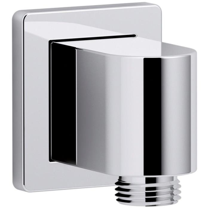KOHLER Awaken Wall-Mount Supply Elbow, Polished Chrome, MPN: K-98350-CP