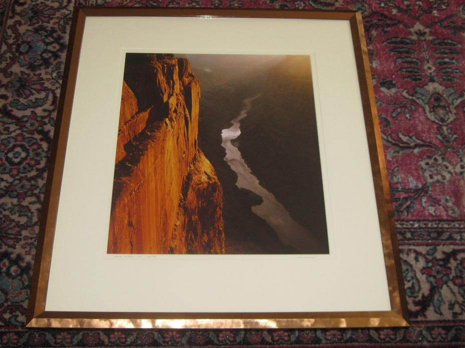 Large Grand Canyon Arizona Framed Limited Edition Print Will Connor
