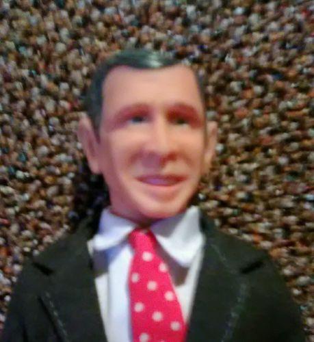 George Bush president's figure/doll