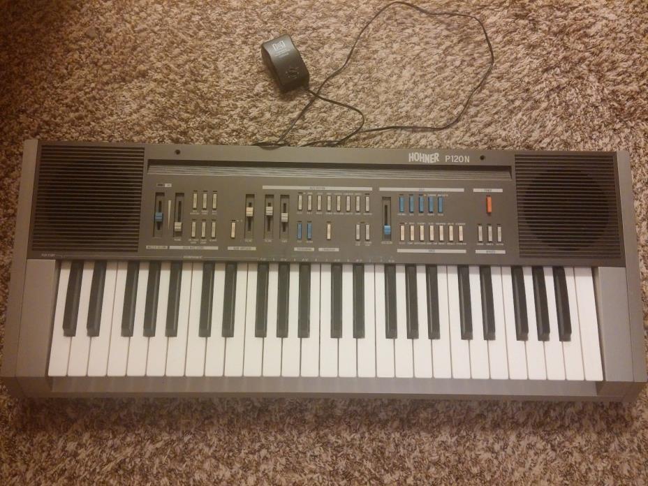 Vintage Hohner P120N Keyboard, Analog Filters, Rare, 1980s