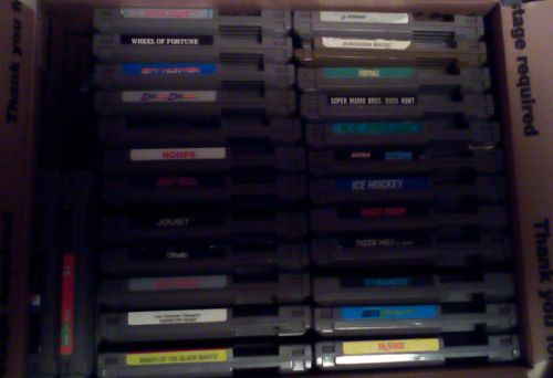 lot of 26 Nintendo Nes games!