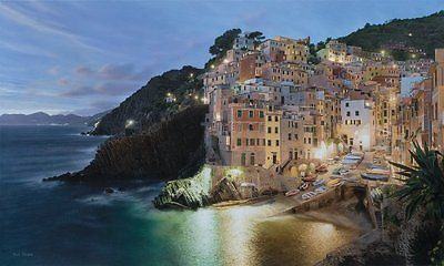 Rod Chase Via del'Amore Signed Open Edition