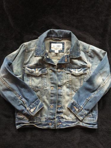 The CHILDRENS PLACE Kids Girls Boys size S 5 6 Blue Jean Denim Jacket