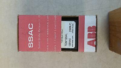 STERO DISHWASHER TDM120AL Digi-Set Time Delay Relay 120 VAC 8 Pin (NIB)