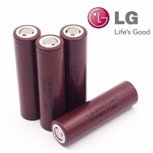 4 LG INR18650 HG2 HIGH DRAIN 20A RECHARGEABLE Battery 3000mAh BROWN