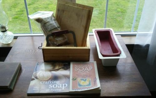 Soap Making Molds Box Lot