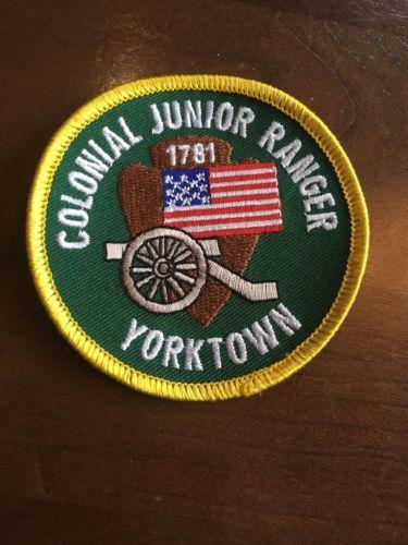 Colonial Junior Ranger 1781 Yorktown Patch