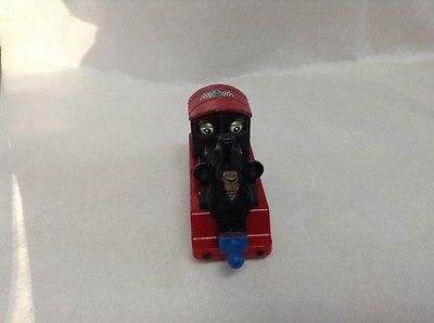 CHUGGINGTON Snow Covered OLD PUFFER PETE Die Cast Train Engine