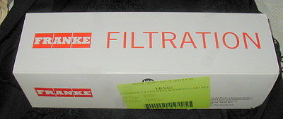 FRANKE REPLACEMENT WATER FILTER CARTRIDGE FRX-02, NEW IN BOX, FILTRATION