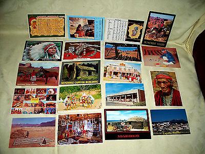 Vintage Southwest Postcards Lot of 18+1