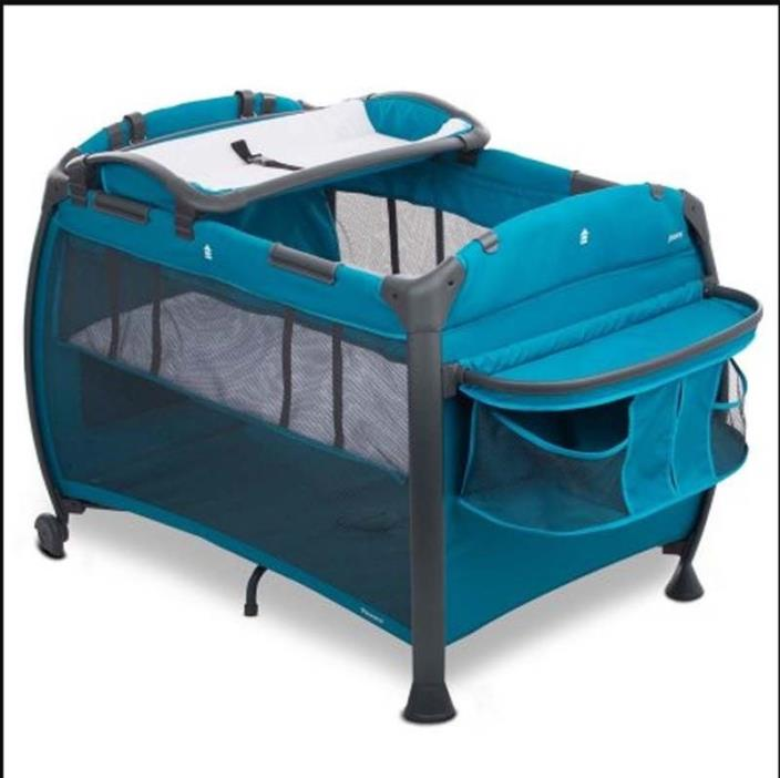 Safety Playpen for Baby 10 Panels Gate Infant Store Away Activity Blue Play