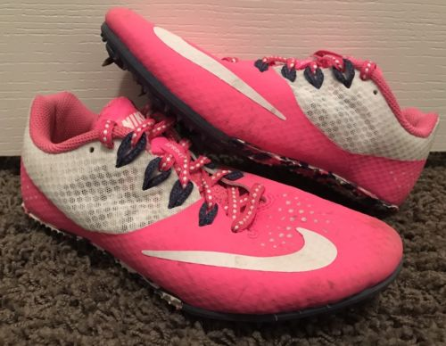 Nike Zoom Sprinting Running Track Cleat Pink US Size 2