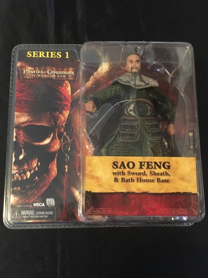 Pirates of the Caribbean At Worlds End Sao Feng Figure Series 1 NIB