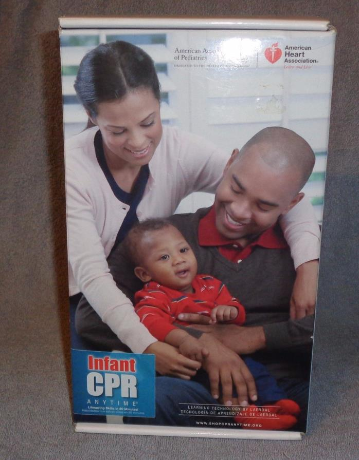Infant CPR Doll-Learn Lifesaving Skills in 20 Minutes!-Includes:Manikin,DVD,etc.