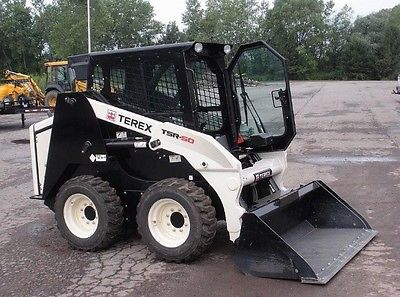 2012 Terex TSR50 Skid Steer Loader w/ Cab. Coming in Soon!