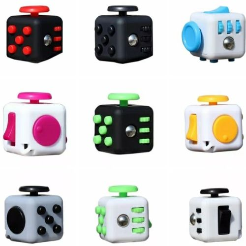Fidget cube stress relief toys fun autism  10 count lot