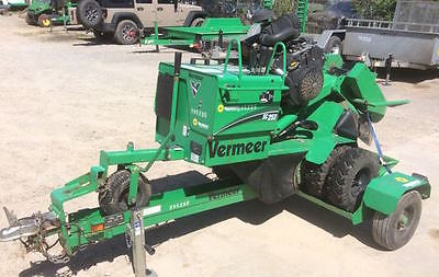 2012 Vermeer SC252 Self-Propelled Stump Grinder w/ Trailer. Coming in Soon!