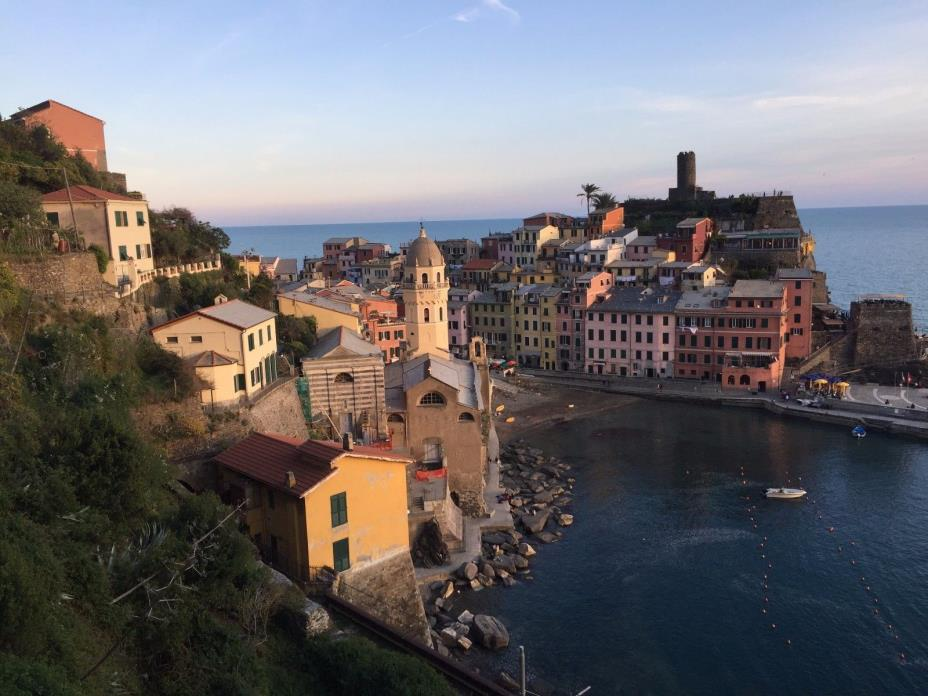Digital photo Vernazza Cinque Terre Beautiful