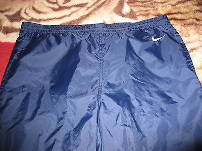 Nike Unisex Workout Pants, Size Medium, Color Blue
