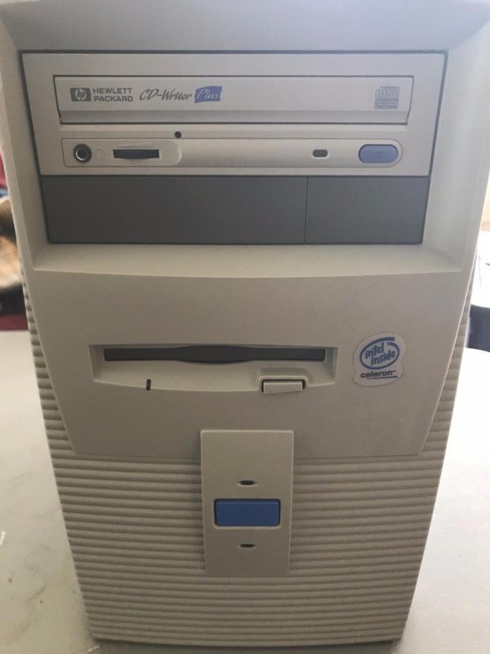 Vintage HP 6745Ce Computer Celeron 700 MHz  64 MB **NO HDD**