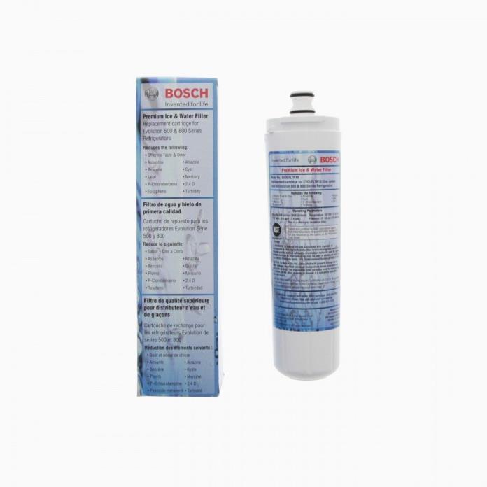 2 Pack Genuine Bosch 640565 Refrigerator Water Filter EVOLFLTR10 EV0LFLTR10 NEW