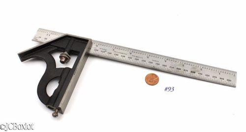 Starrett Co. 36 GRAD Combination Square Rule 12