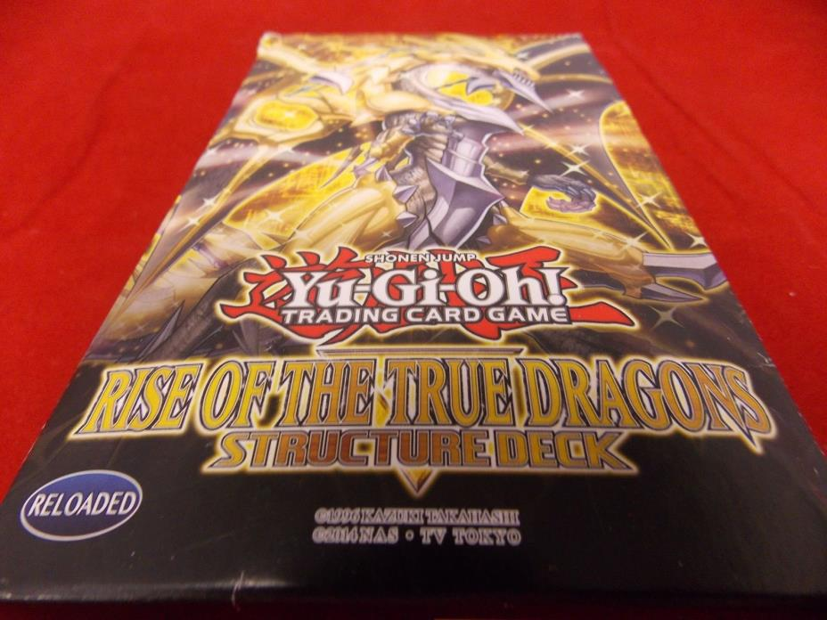 Yu-Gi-Oh Cards Structure Deck 5 RARE CARDS,RISE OF THE TRUE DRAGONS -NEW